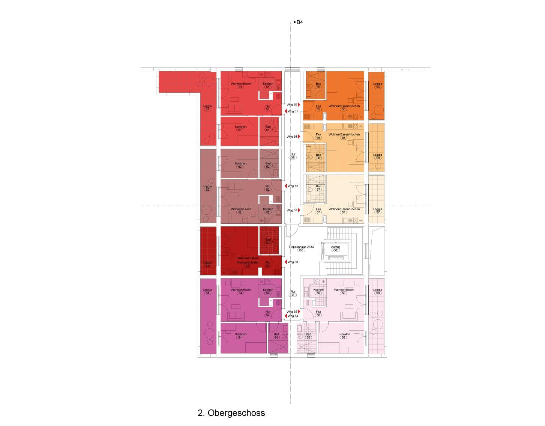 """Haus 4 """"Feuer"""" - Alle Wohnungenreserviert"""