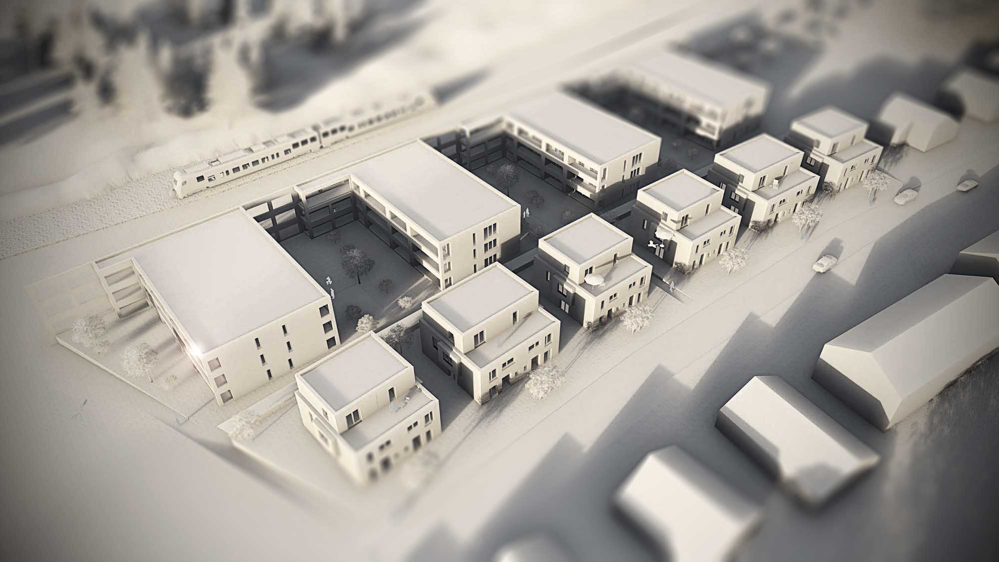 """Wohnquartier """"elements"""" Wohnquartier """"elements"""" Karlsruhe-Knielingen"""
