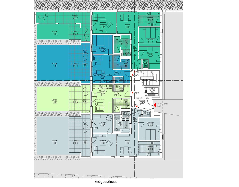 """Haus 2 """"Luft"""" - jetzt vormerken lassen, Verkaufsstart für verbleibende Wohnungen ab Herbst2022"""