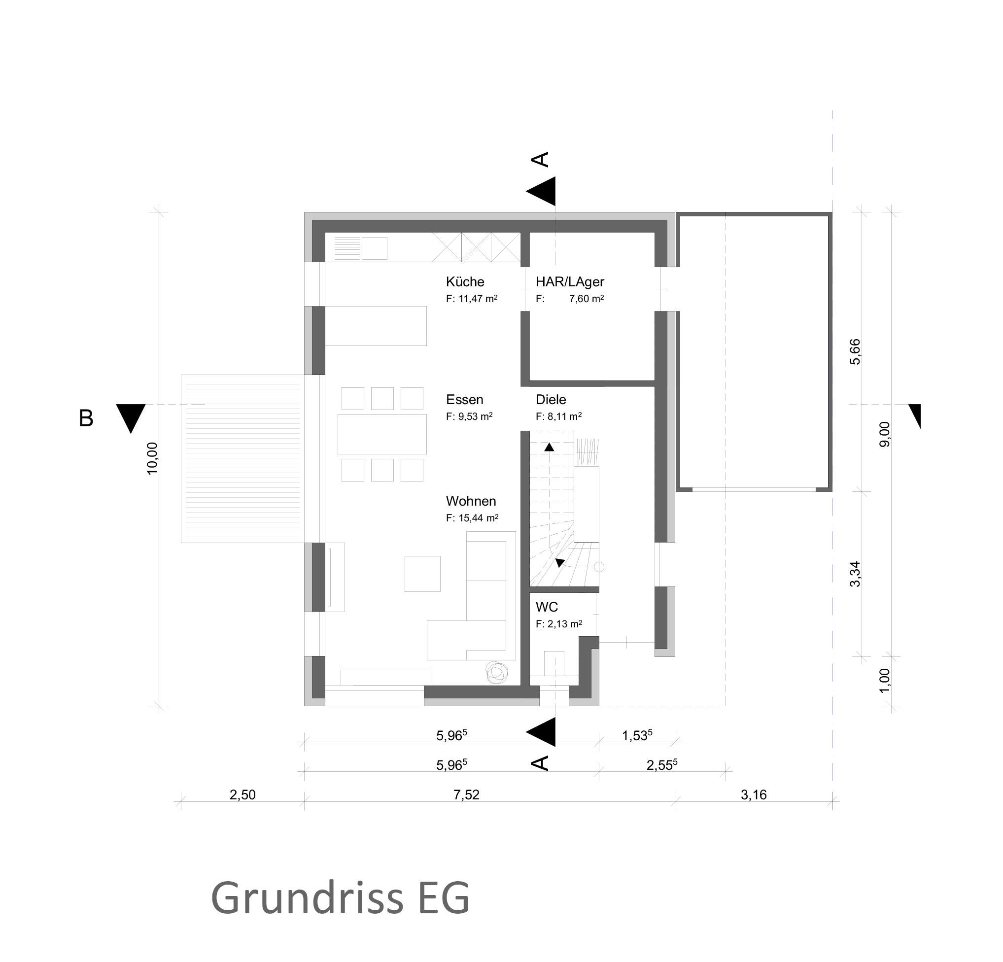 8Einfamilienhäuser Bauträger Grundriss Stutensee Bahnhof
