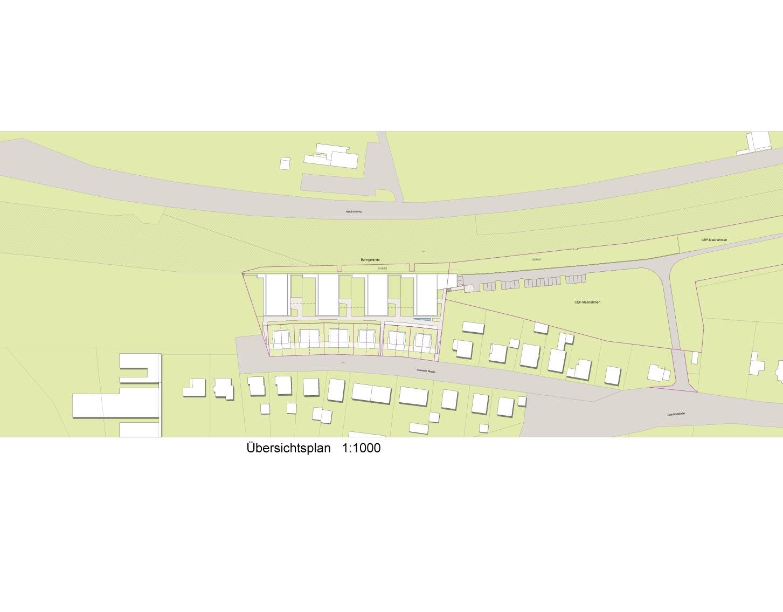 """Haus 1 """"Wasser"""" - Alle Wohnungenreserviert Übersichtsplan Maxuer Straße"""